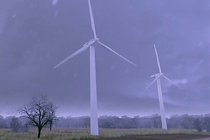 Efficient wind energy plants through condition monitoring